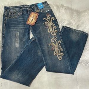 Trinity Ranch Montana West Jeans 32Wx35L Signature